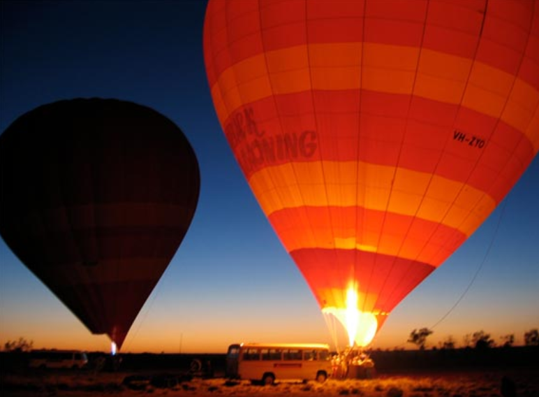Hot Air Balooning Alice Springs